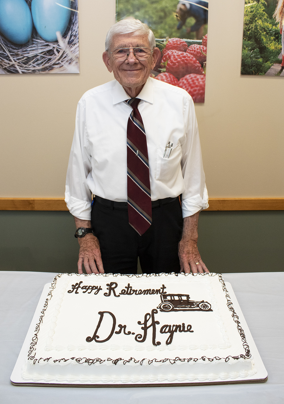 BCMH Excellence - Dr  Haynie Retires - Bates County Memorial