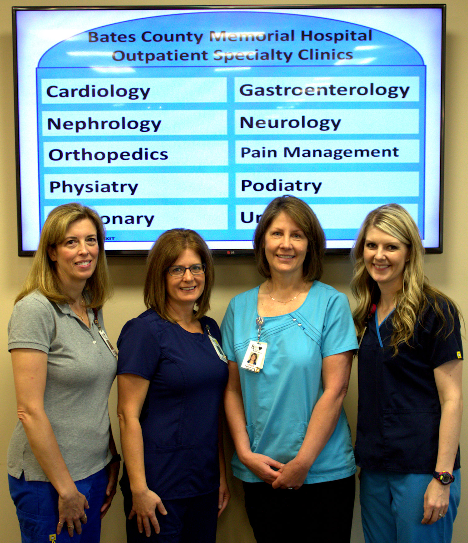 Outpatients Specialty Clinics